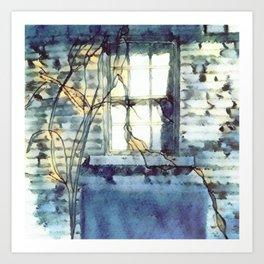 Light Through Window Art Art Print