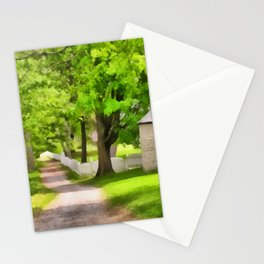 Spring Buttery Stationery Cards
