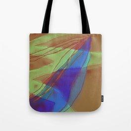 A Well Used Slate Tote Bag