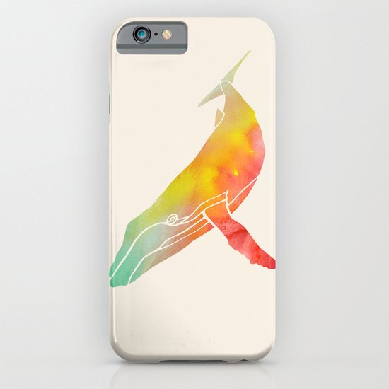 Watercolor Whale iPhone & iPod Case