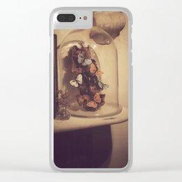 Eternal butterflies Clear iPhone Case