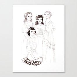 The Grand Duchesses Canvas Print