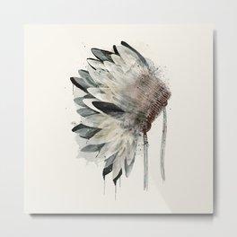 Headdress Metal Print
