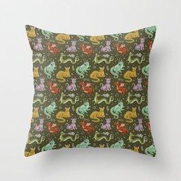 herb dragons Throw Pillow