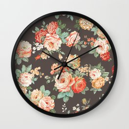 elise shabby chic Wall Clock