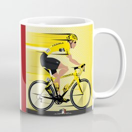 France Yellow Jersey Coffee Mug