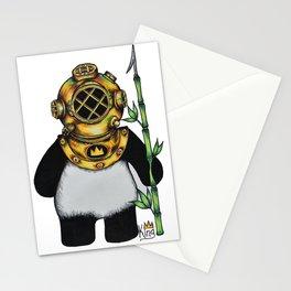 Scuba Panda Stationery Cards