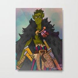 Fantasy Zoro Metal Print