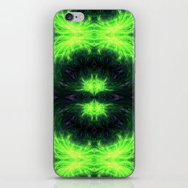 Psychedelic geometry pattern (Acid session vol.1) iPhone Skin