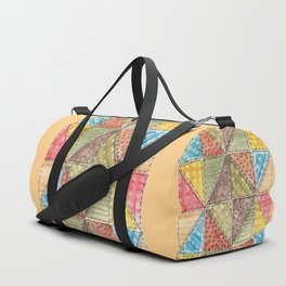 Quilt Duffle Bag