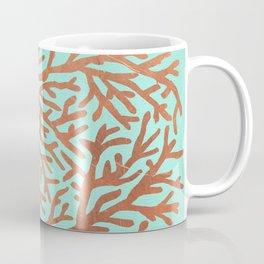 Copper Coral Coffee Mug