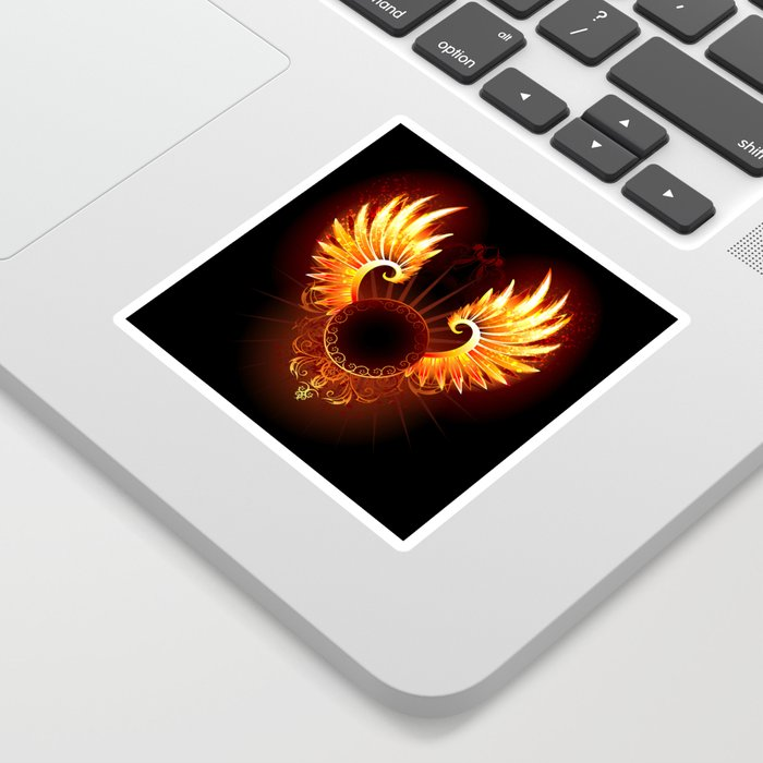 Wings Phoenix Sticker