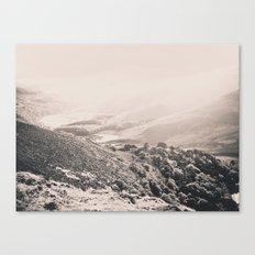 Ireland Mountains. Canvas Print
