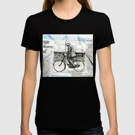 CP Scott on a Bicycle T-shirt
