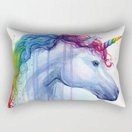 Magical Rainbow Unicorn Rectangular Pillow