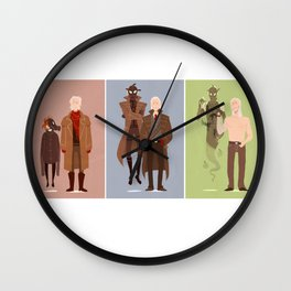 MGS Through the Years Wall Clock
