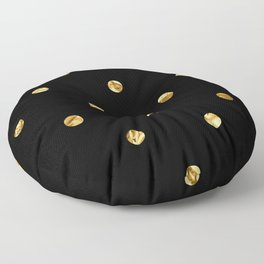 Black & Gold Floor Pillow