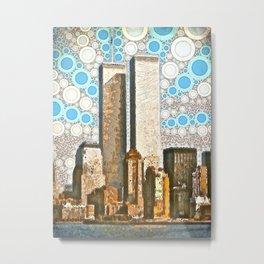 Twin Towers 1995 Metal Print