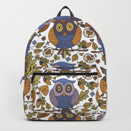 Fall Pattern #1 Backpack