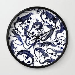 Reptilia Wall Clock