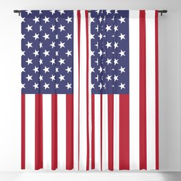 American Flag United States USA Patriotic Blackout Curtain