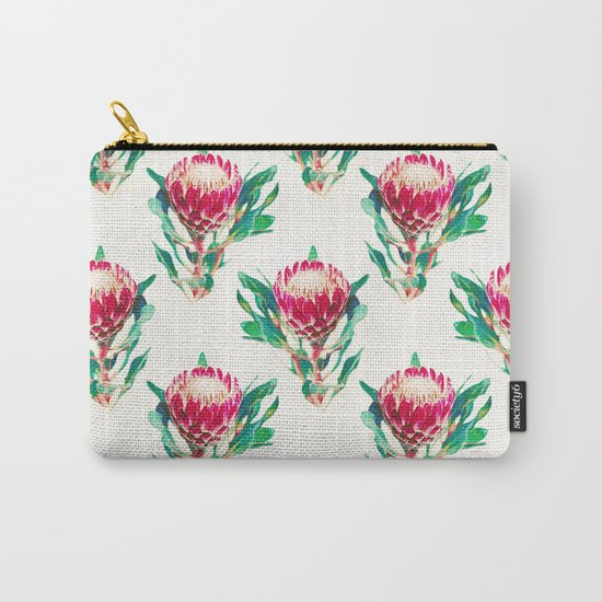 Vintage Protea  Carry-All Pouch