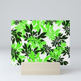 Leaf Pattern 2 Mini Art Print