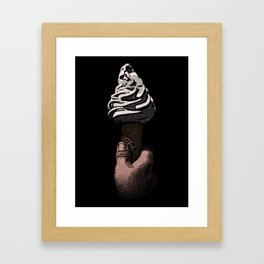 Ice Cream Liberation Framed Art Print