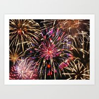 4th Of July 2014 Composite Art Print