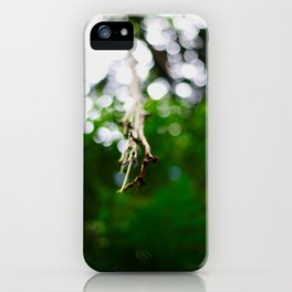 hanging liana iPhone Case