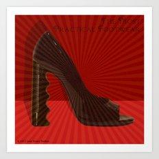 The Most Practical Footwear Art Print