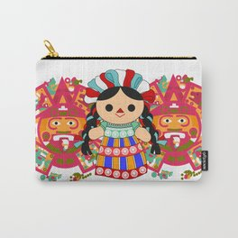 Maria 6 (Mexican Doll) Carry-All Pouch
