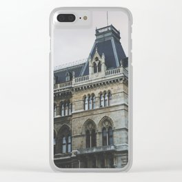 spring in vienna 3 Clear iPhone Case