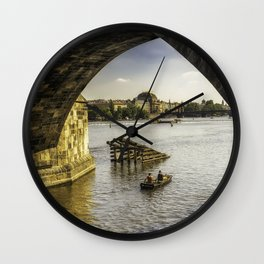 Fishermans Journey Wall Clock