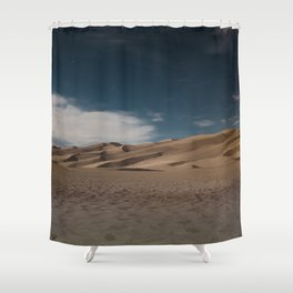 Midnight in the Desert Shower Curtain