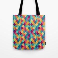 Colored Diamonds Tote Bag