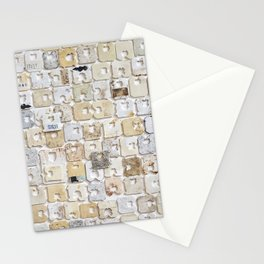 found feral breadtags Stationery Cards