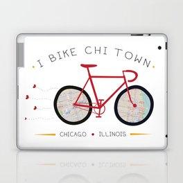 Chicago, Illinois by I Bike Laptop & iPad Skin