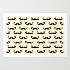 Mustaches for Z Art Print