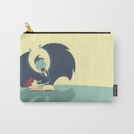 Vampire and Girl Carry-All Pouch