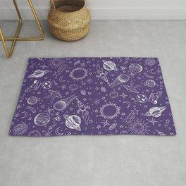 I Need Space (Purple) Rug