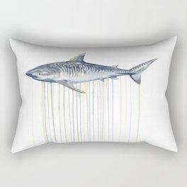 Tiger Shark Rectangular Pillow