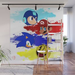 Smash Brothers: The Legends Wall Mural
