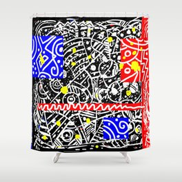 Holy Moly 03 Shower Curtain