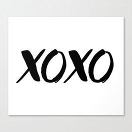 XOXO - Hugs and Kisses Canvas Print