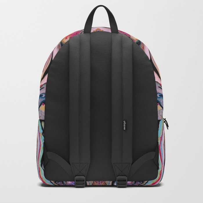 Colorful Fantasy Abstraction Backpack