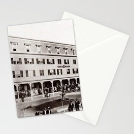 1880 Riverside Hotel, East Providence, Rhode Island Vintage Photograph Stationery Cards
