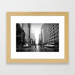 88th Street Framed Art Print