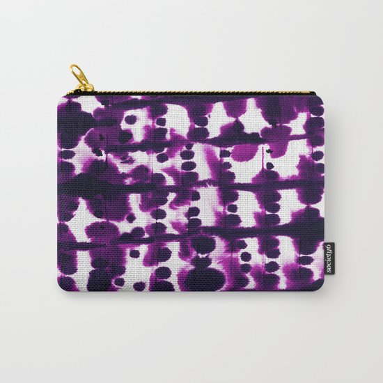 Parallel Purple Carry-All Pouch