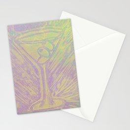 purple martini Stationery Cards